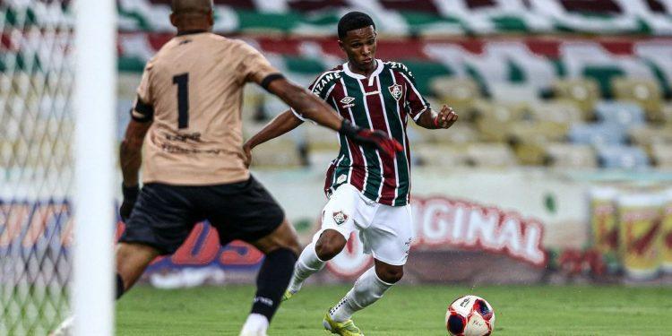 Kayky se destacou na conquista do título brasileiro sub-17 na edição passada. Foto: Fluminense/Divulgação