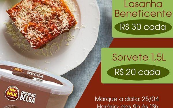 Casa lasanha congelada custa R$ 30 e deve ser reservada pelo site. Foto: Divulgação
