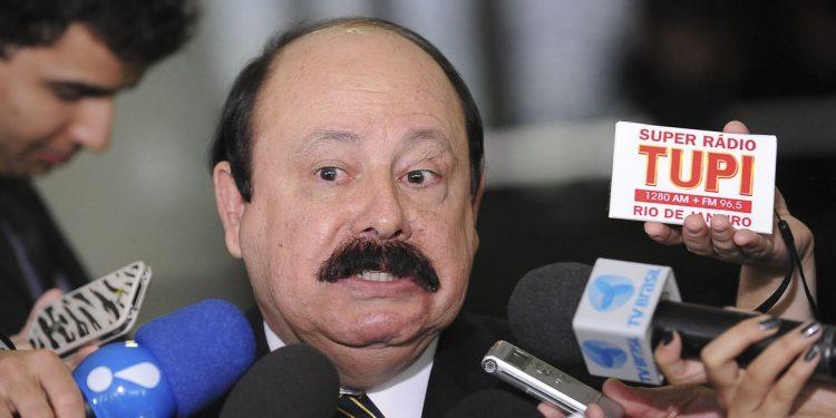 O presidente nacional e fundador do PRTB, Levy Fidelix, que morreu nesta sexta-feira em SP,. Foto Agência Brasil)