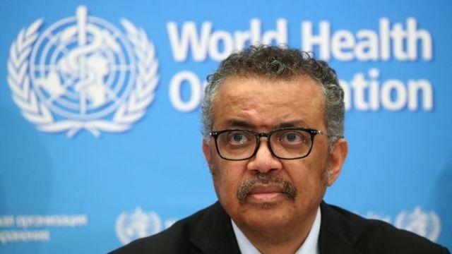 Tedros Adhanom Ghebreyesus, diretor-geral da OMS, está preocupado com a acelerada transmissão da Covid-19 em todo o mundo, sobretudo na Índia Foto: Arquivo