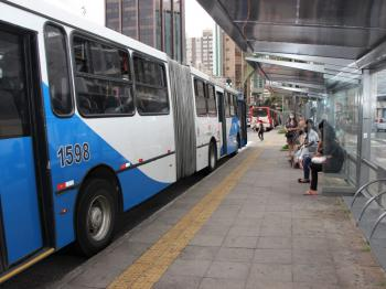 Por conta da reabertura das atividades econômicas, houve mudanças também  no sistema de transporte. Foto: Divulgação