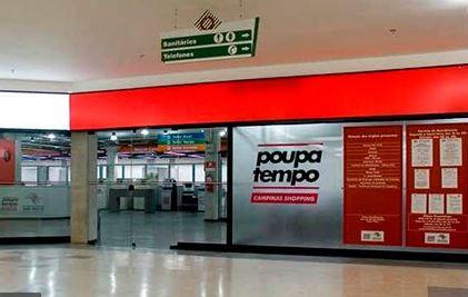Unidade do Poupatempo localizado no Campinas Shopping continua fechado para atendimento presencial - Foto: Divulgação
