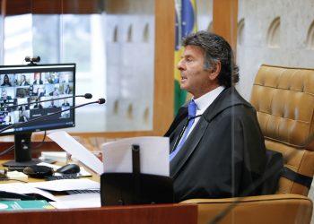 Ministro Luiz Fux, presidente do STF, votou a favor da decisão em plenário. Foto: STF/Divulgação