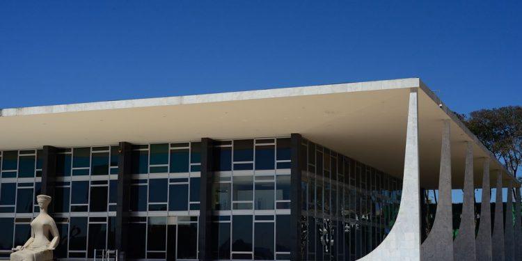 Fachada do edifício sede do Supremo Tribunal Federal  (STF): relações tensas entre os poderes da República Foto: Marcello Casal Jr/Agência Brasil