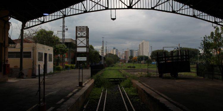 Estação do Pátio Ferroviário, que deverá ser o ponto de partida do ramal até o aeroporto de Viracopos. Foto: Leandro Ferreira \ Hora Campinas