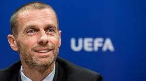 Aleksander Ceferin, presidente da Uefa, convocou uma reunião de emergência. Foto: Arquivo