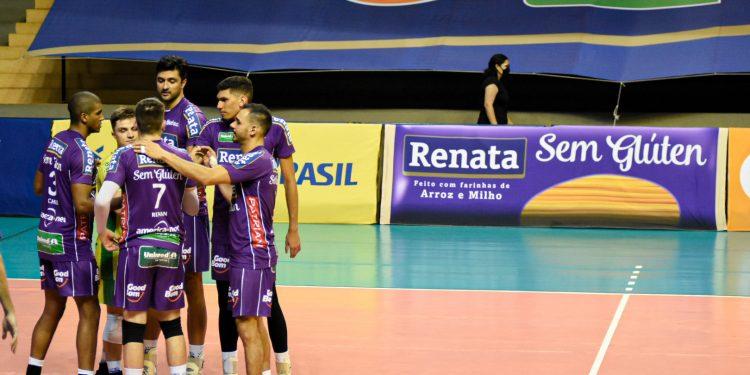 time de vôlei masculino de Campinas tem jogo de semifinal - Foto: Pedro Teixeira/Vôlei Renata