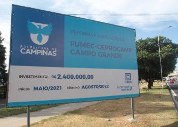 O Ceprocamp oferece cursos técnicos em administração, enfermagem, segurança do trabalho. Foto: Manoel de Brito/PMC