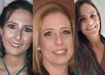 Ana Carla Mendonça - Lícea Calaes de Oliveira e Maria Paula Aquino - Foto: Divulgação
