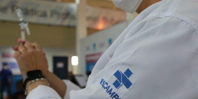 Secretaria de saúde abre agendamento para doses sobrantes. Foto: Leandro Ferreira/Hora Campinas