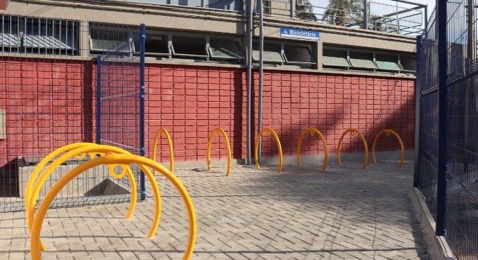 Bicicletário no Terminal Barão Geraldo - Foto: Divulgação