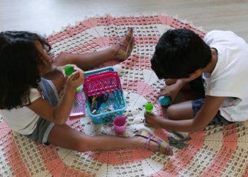 Dia é para lembrar a importância das brincadeiras durante a infância - Fotos: Fábio Rodrigues Pozzebom/Agência Brasil