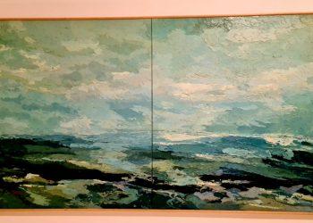 Francisco Biojone: Mar - composição,  óleo sobre tela, de 2001 - Fotos: Divulgação