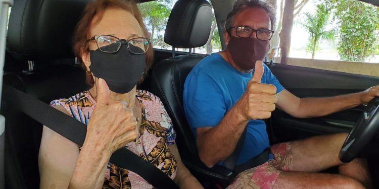 Vacinação drive Thru em Vinhedo:  cidade retoma cadastro para moradores com 60 anos ou mais - Foto: Divulgação