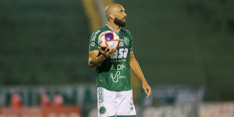 Lateral durante partida do Paulistão no Brinco de Ouro Foto: Thomaz Marostegan/Guarani FC