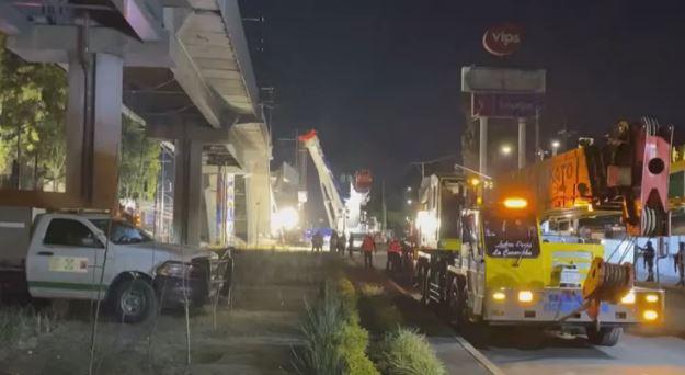 Equipes trabalham no local do acidente - Foto: Reprodução Youtube