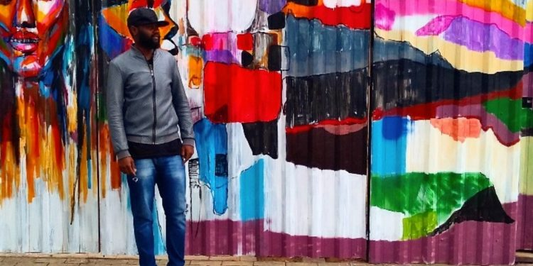 """Primeiro projeto do artista plástico Lavi Israel desenvolvido para o projeto """"Cores do Mundo""""  em São Paulo - Foto: Divulgação"""