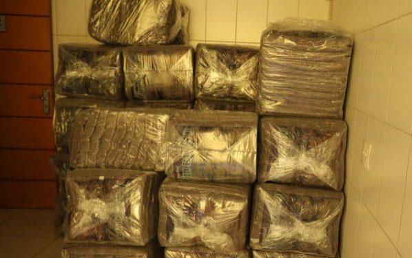 Cobertores doados, que serão distribuídos aos moradores em situação de rua de Campinas - Foto: Divulgação