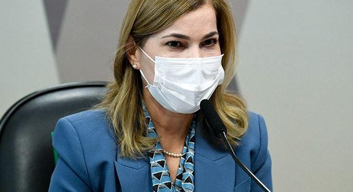 """Mayra Pinheiro, a """"Capitã Cloroquina"""" - Foto: Jefferson Rudy/Agência Senado"""