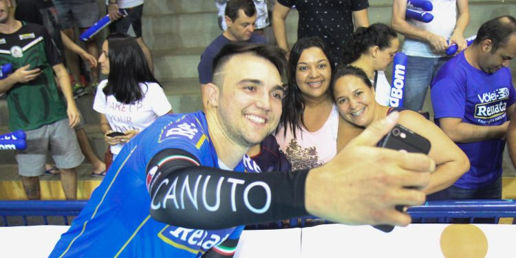 O ponteiro Canuto esteve no Vôlei Renata em duas temporadas, entre 2018 e 2020. Foto: Divulgação