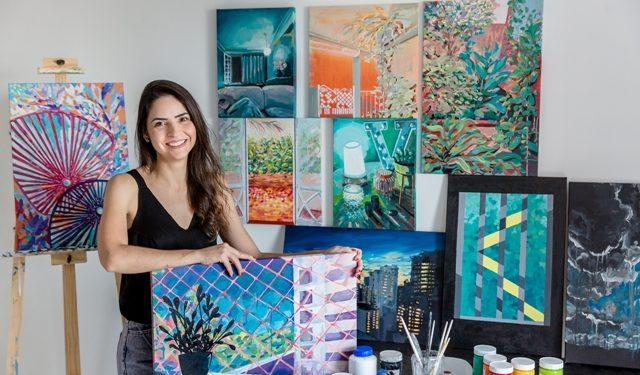 A artista plástica Leticia Volpi - Fotos: Divulgação