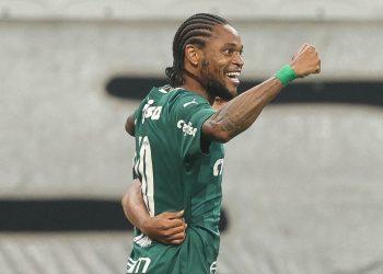 Luiz Adriano foi o autor do segundo gol palmeirense, que selou a vitória e a vaga na final do Paulistão Foto: SE Palmeiras/Divulgação