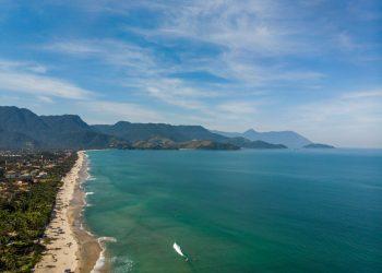 A praia de Maresias, em São Sebastião - Foto: Divulgação