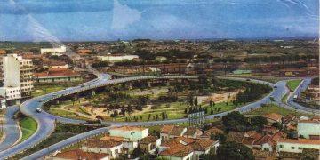 Foto de área da região do Viaduto Cury, onde foi instalado o Terminal Central, postada por Cosme Santos