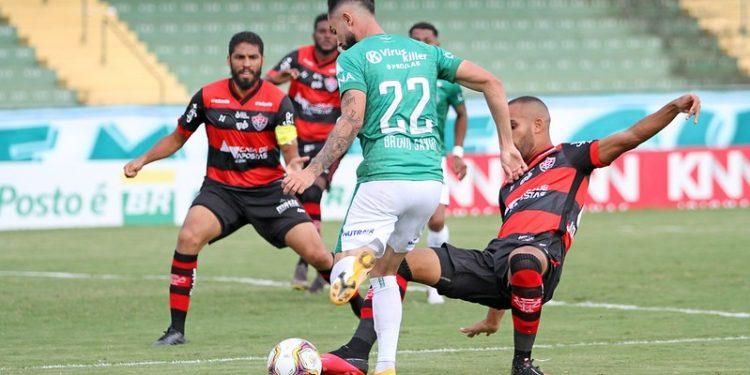 O Vitória venceu o Guarani por 2 a 1, em janeiro deste ano, no Brinco de Ouro - Foto: Thomaz Marostegan/Guarani FC
