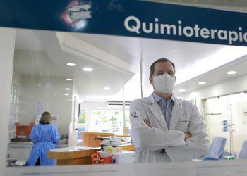 O oncologista André Sasse, CEO do Grupo SOnHe, no Instituto Radium: atendimento humanizado - Foto: Leandro Ferreira/ Hora Campinas