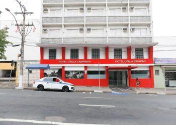 Hotel Opala Avenida, na Avenida Campos Salles, Centro de Campinas, não resistiu ao impacto da crise econômica provocada pela Covid-19. Foto: Leandro Ferreira/Hora Campinas