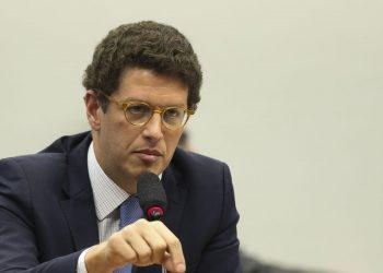 O ministro do Meio Ambiente, Ricardo Salles, que teve seus sigilos bancário e fiscal quebrados por conta da Operação Akuanduba Foto: Agência Brasil