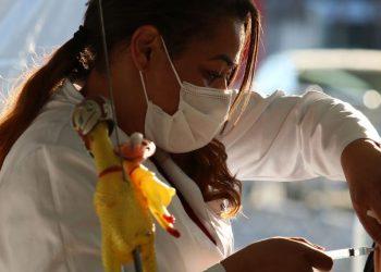 Ministros afirmam em evento com investidores que o Brasil terá toda a população imunizada até o final de 2021 - Foto: Rovena Rosa/Agência Brasil