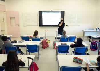 Primeiros alunos matriculados na Sabis Internacional, campus localizado numa das áreas de maior produção de conhecimento de Campinas, o Polo de Alta Tecnologia Foto: Divulgação