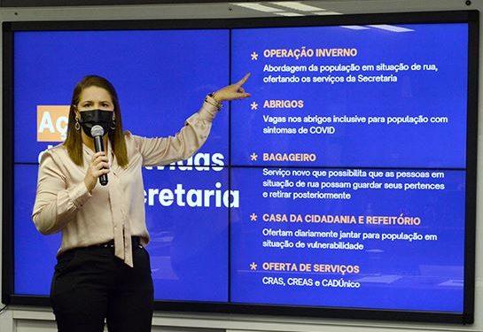 Secretária de Assistência Social, Vandecleya Moro - Foto: Luiz Granzotto/Prefeitura de Campinas