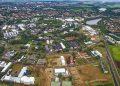Vista aérea do campus da Universidade Estadual de Campinas: pesquisa  Foto: Divulgação