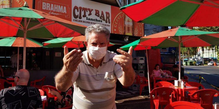 Seu Zé mandar avisar os fieis butequeiros que o City Bar está de volta, como sempre foi. Foto: Leandro Ferreira/Hora Campinas