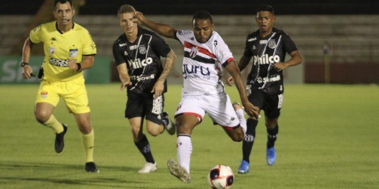 Ponte venceu Botafogo na primeira fase do Paulistão, em Ribeirão Preto. Foto: Divulgação/Botafogo FC