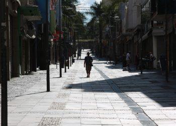 Rua 13 de Maio, uma das mais conhecidas e frequentadas ruas de Campinas - Fotos: Leandro Ferreira