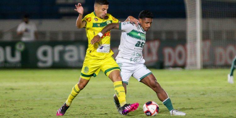A partida entre Guarani e Mirassol teve poucos lances de perigo. Thomaz Marostegan/Guarani FC