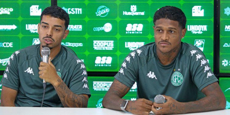Bidu e Rodrigo Andrade se desculparam pela confusão, mas podem tomar suspensão de quatro a 12 partidas- Foto: Thomaz Marostegan/Guarani FC