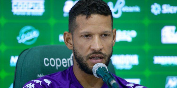 Otimista para o início da Série B, Rafael Martins confia nas chances de acesso do Bugre. Thomaz Marostegan/Guarani FC