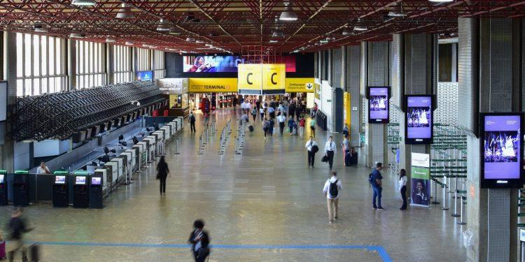 Passageiro infectado com variante indiana desembarcou no Aeroporto de Guarulhos. Foto: Arquivo
