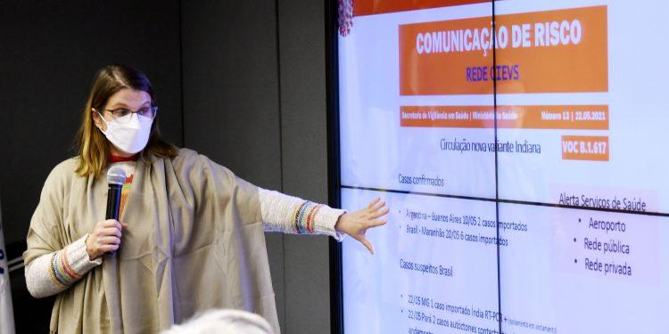A diretora do Devisa, Andrea Von Zuben: rastreamento do vírus. Foto: Divulgação/PMC