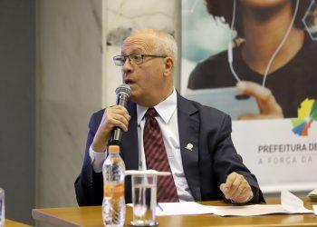 O ex-presidente da Sanasa, Arly de Lara Romêo, que hoje ocupa o cargo de secretário municipal de Habitação. Foto: Divulgação/PMC