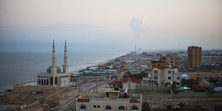Gaza, a maior cidade do território palestino Imagem: Mazur/Catholic Church England and Wales/Fotos Públicas