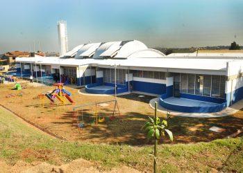 Creche municipal em Campinas; primeiro dia de aulas presencias desde março do ano passado. Foto: Divulgação \ PMC