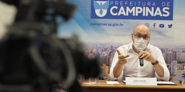 O prefeito de Campinas, Dário Saadi (Republicanos): ação no MP. Foto: Divulgação \ PMC.
