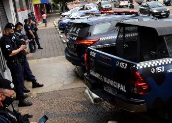 GUarda Municipal em ação de fiscalização, em Campinas: Divulgação \ PMC