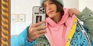 Jaqueta com estampa de bandana, look muda na hora - Fotos:  Reprodução Instagram e Pinterest
